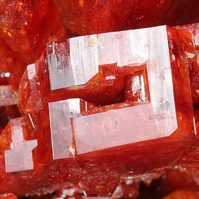 Cl.  Vanadinite Crystal