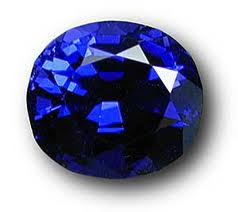 Cobalt.  Blue Spinel Gemstone