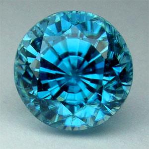 Zircon birthstone-Blue