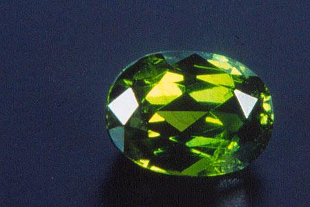 Garnet=Demantoid, Gemstone