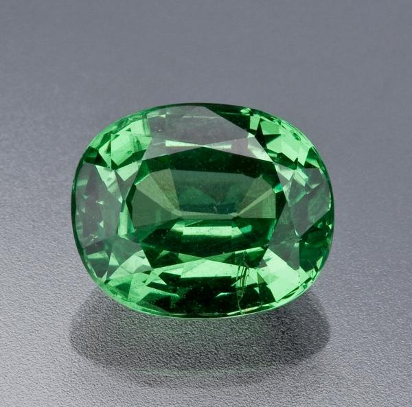 Tsavorite-Garnet Gemstone, $240
