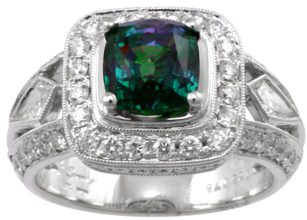 Chrysoberyl, Alexandrite Ring, 2.56 ct., $64K