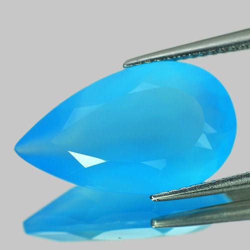 Blue Chalcedony.  6.34 c. unheated.  Thailand.  $3.  ebay