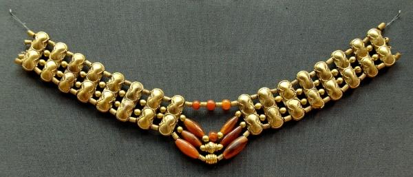 Cornelian_necklace, 1200-1400BC