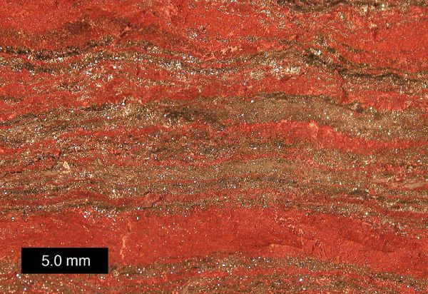 Chert in Banded Iron Ore, Michigan