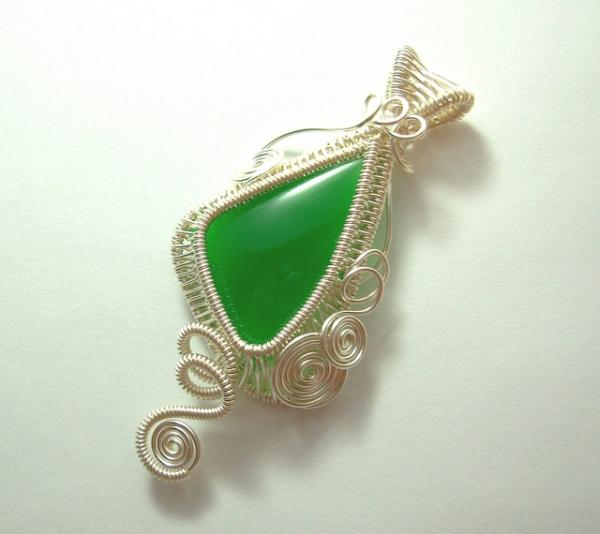 Mtorolite Pendant, dawnblairjewelry