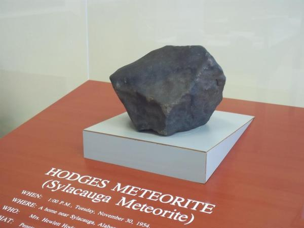 Hodges Meteorite, Sylacauga, AL