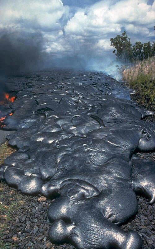 Igneous-Lava Flow, Hawaii
