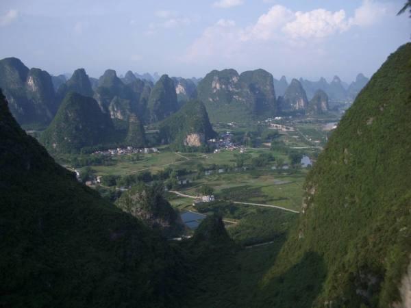 Karst Terrain, China