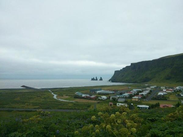 Icelandic Coastal Village
