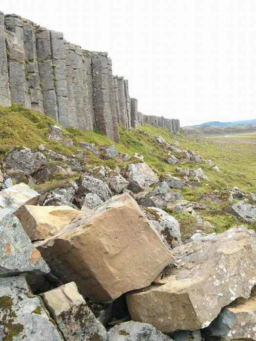 Saefllsness.  Columnar Basalt