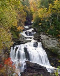 Cullasaja River Falls
