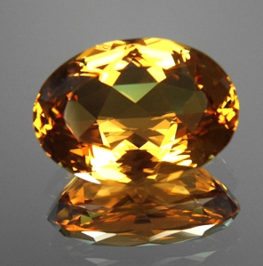 Cut Golden Beryl
