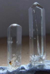 Beryl-Goshenite Crystals