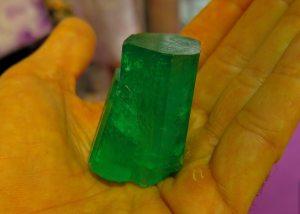 Muzo Emerald Crystal, 540 carats, Colombia