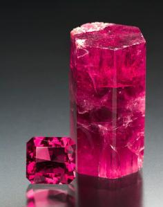 Red Beryl, Crystal and Gemstone