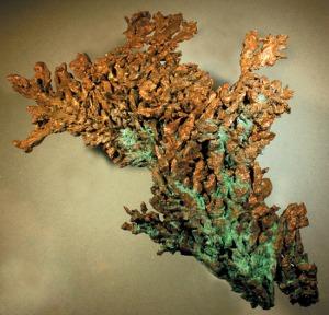 Cu.  Native Copper