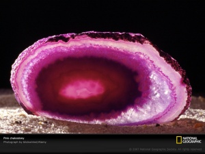 2.  Pink Chalcedony