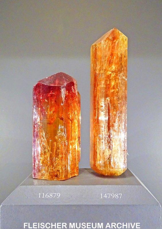3.  Chromium Topaz Crystals