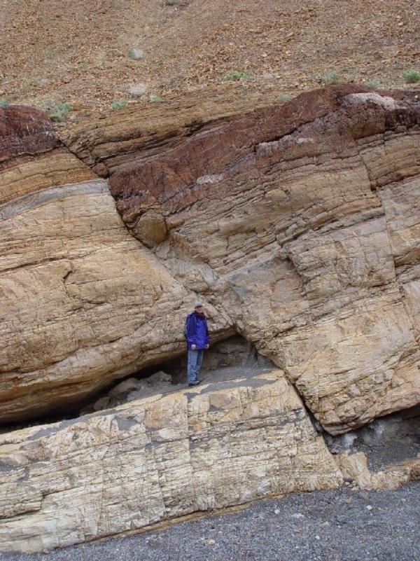 3.  Fault in Sedimentary Rock