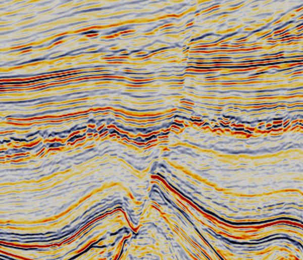 9.  Normal Fault.  Geophysical Seismic.