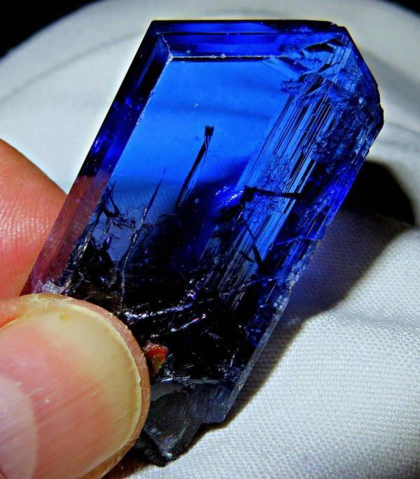9.  Tanzanite Crystal