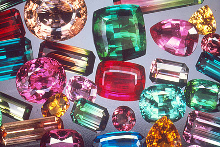 1.  Tourmaline Gemstones. unknown