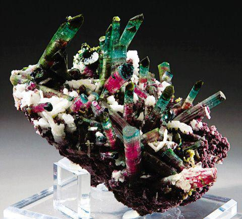 7.  Killer, Tourmaline Crystals. unknown