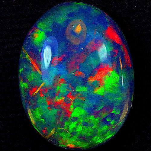 3.  Opal, 11.02ct. Opal Abysinnia. by unknown