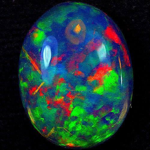 3.  Opal, 11.02ct. Opal Abysinnia. by unknown
