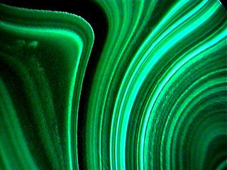 3.  Carbonate - Malachite. by unknown