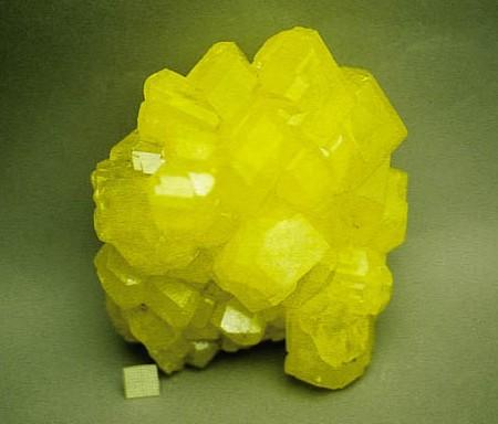 8.  Sulfur Crystals.  Wikipedia.  Smithsonian