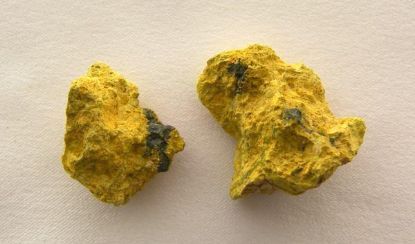 9.  Uranite (U3O8).  22 Prospect, Colorado.  by Steve Rose