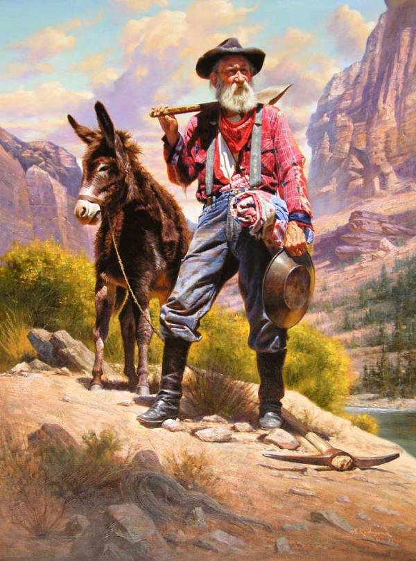 1.  The Old Prospector.  by Alredo Rodriques