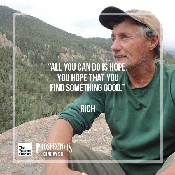 8.  Rich.  Prospectors-Weather Channel