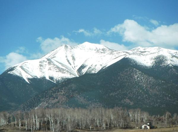 9.  Mt. Antero. CO, in Winter
