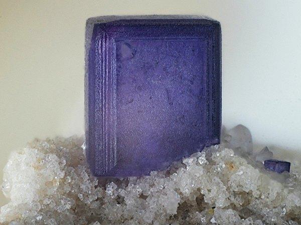 10.  Fluorite, Blue=Purple Crystal.  Bruno Marello