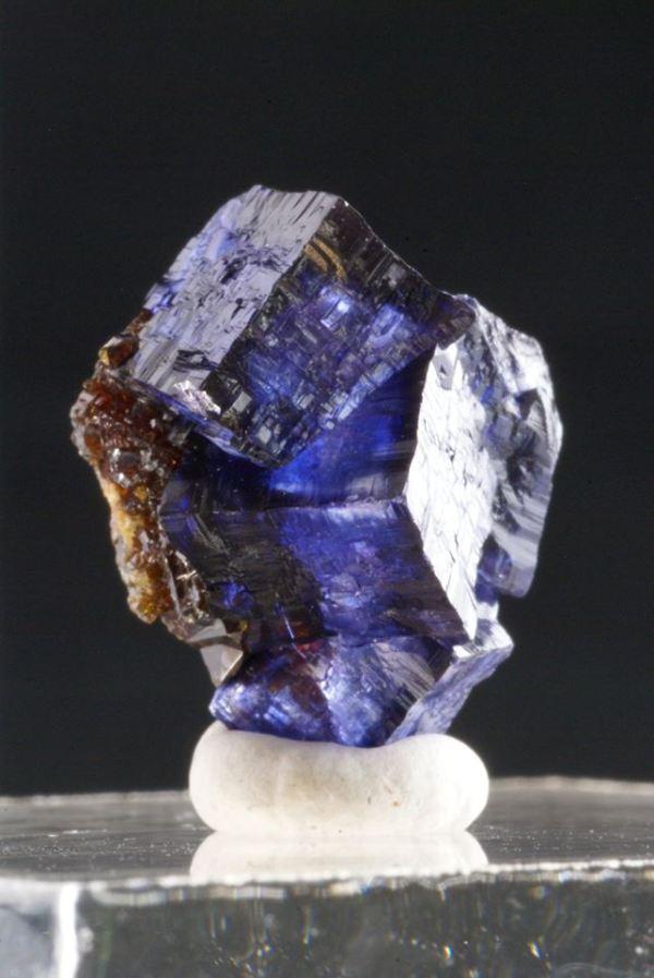 4.  Fluorite, Purple Crystals, sphalerite. Elmwood Mine, TN.  West Coast Minerals