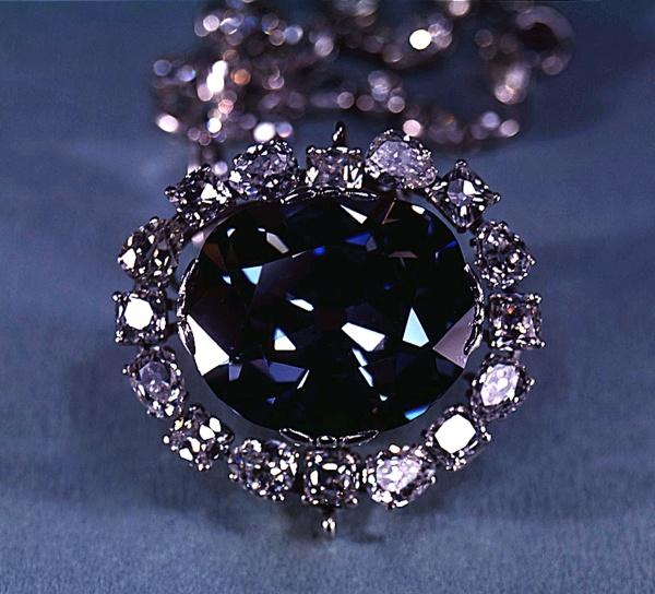 Diamond, Blue. Hope Diamond.  SIA