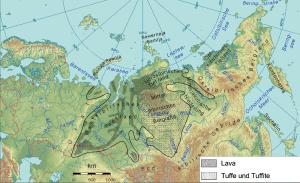 3.7. Suoervolcan. Siberian Traps.2008. Sibirien_topo2.png Ulamm