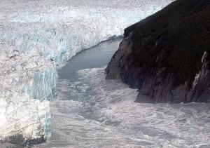 3.9. Subglacial Volcano. Hubbard Glacier, Russel Lake. August 14, .2002. Public Domain