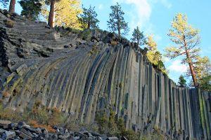Columnar Basalt.  Devils Postpile NM.  Mammothe Lakes, CA.  10-13-2010. Frank Kovalchek