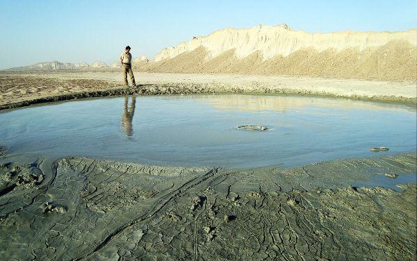 Mud Volcano, Hadi Karimi, Hormozgan, Iran.  2008. Hadi Karimi