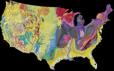 US Geo. Map