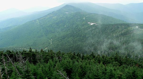 App. Mt. Mount_Mitchell -6,684'. 2004. by Ken Thomas
