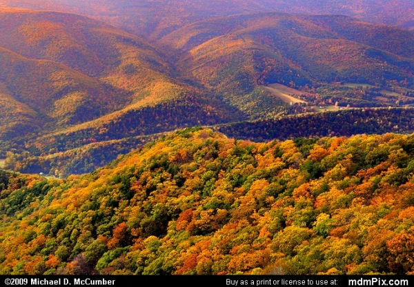Appalachian Mts., Allegheny Front, WV