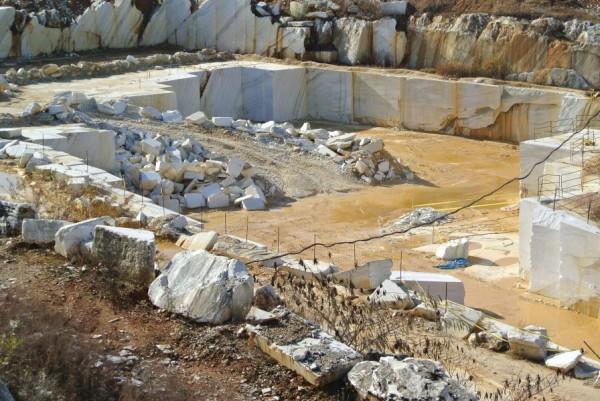 AL Minerals.  AL Marble. White Marble Quarry, Sylacauga.