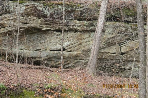 Sandstone. Bankhead NF. Natural Bridge. REM