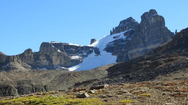 12.  Sedimentary, Dolomite.  Dolomite Peak glacier. Baniff NP, Canada. by cravenhermit