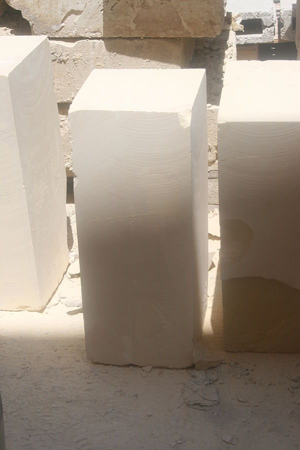 6.  Sedimentary, Limestone Block.  Kalkstein_(nahe).  07-23-15. by A. Ocram